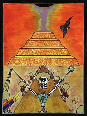 Saqqara Under Cooonstructiooon Art Print
