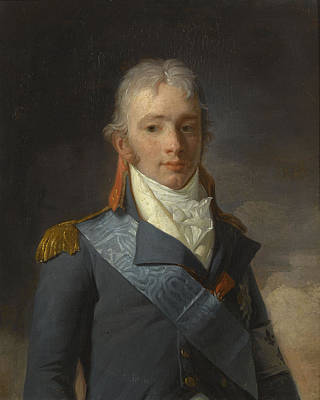 Male Painting - Sar Le Prince Charles-ferdinand D'artois by Celestial Images