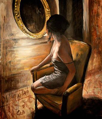 Figurative Painting - Sara by Escha Van den bogerd