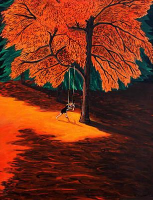 Swing Painting - Sarah by Ethel Vrana