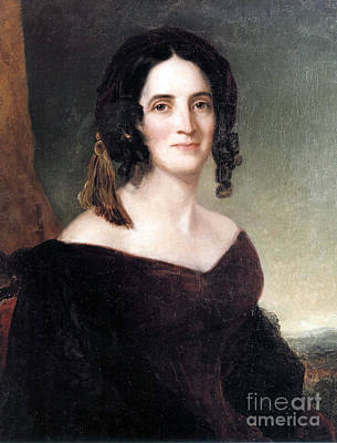 First Lady Photograph - Sarah Polk, First Lady by Science Source