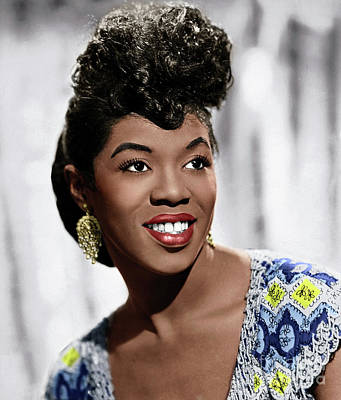 Photograph - Sarah Vaughan by Granger