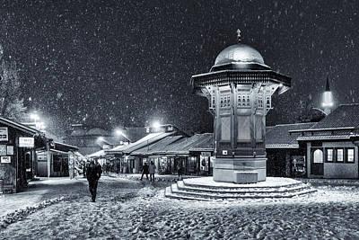 Photograph - Sarajevo In Winter by Bez Dan