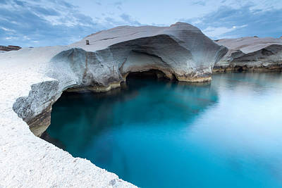 Greece Photograph - Sarakiniko by Evgeni Dinev