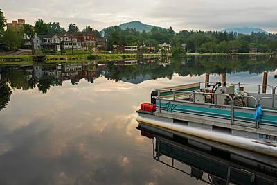 Photograph - Saranac Lake Boat Ny New York by Toby McGuire