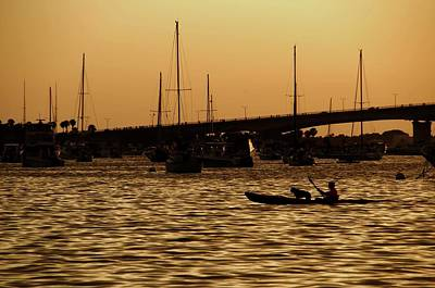 Photograph - Sarasota Bay Sunset #1 by Jonathan Sabin