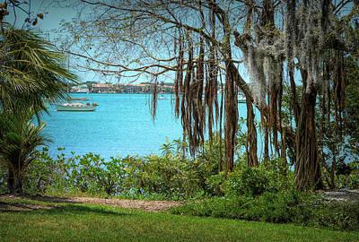 Photograph - Sarasota Inlet by Rosalie Scanlon