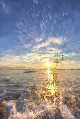 Digital Art - Sarasota Splash II by Jon Glaser
