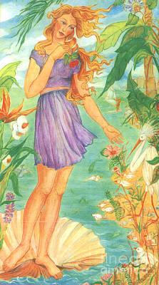 Painting - Sarasota Venus by Karin Zukowski