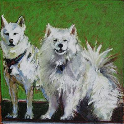 Painting - Saratoga Dogs by Michelle Winnie
