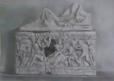 Drawing - Sarcophagi by Paez ANTONIO