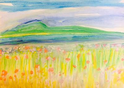 Painting - Sardegna by Judith Desrosiers