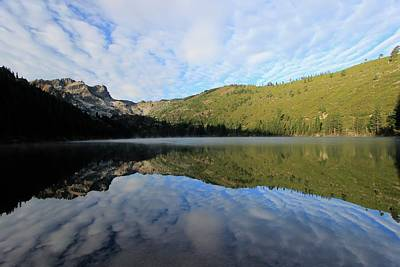 Photograph - Sardine Lake Dawning by Sean Sarsfield