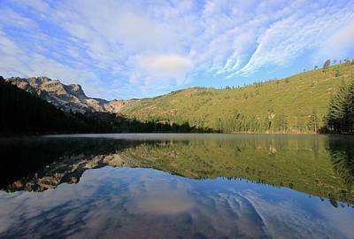 Photograph - Sardine Lake Mirror by Sean Sarsfield