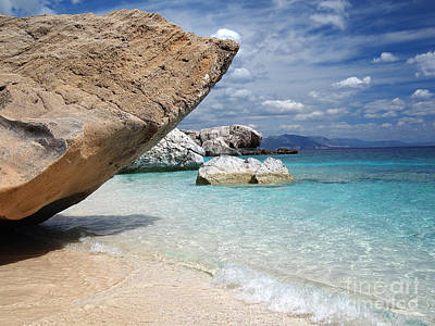 Photograph - Sardinia Rocky Beach by IPics Photography
