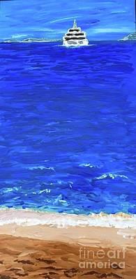 Painting - Sardinia  by Sheila McPhee