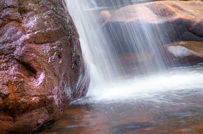 Photograph - Saree Ella Water Cascade by Jenny Rainbow