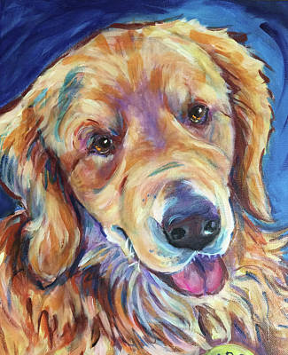 Painting - Sarge by Judy Rogan
