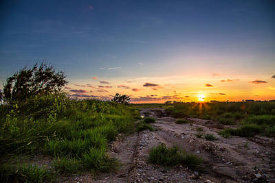 Photograph - Sargent Texas Sunset by Micah Goff