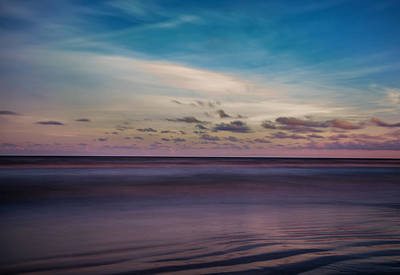 Photograph - Sargent Texas Surf Long Exposure Simple by Micah Goff