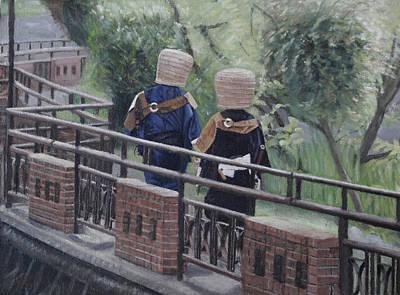 Painting - Sariyuku Komuso by Masami Iida
