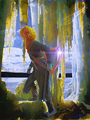 Photograph - Sarkis Passes Through The Ice Curtain by Anastasia Savage Ealy