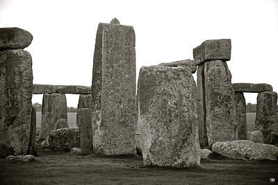 Photograph - Sarsen Stones by John Meader