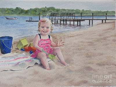 Painting - Sas Bass River Beach by Karol Wyckoff