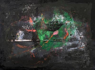 Baselitz Painting - Sasamaki by Antonio Ortiz