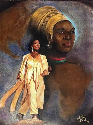 Sashay Art Print by Carl Towns II