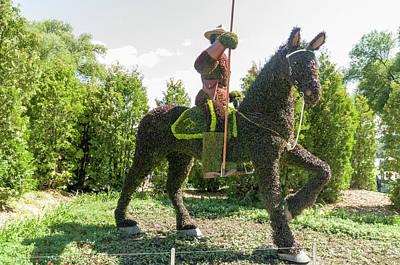 Gatineau Park Wall Art - Photograph - Saskatchewan's Entry Is A Royal Canadian Mounted Policeman by Bob Corson