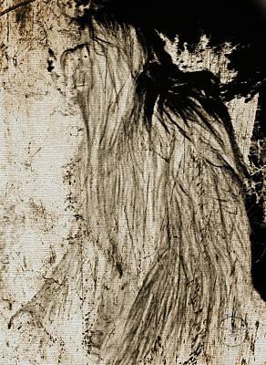 Digital Art - Sasquatch by Absinthe Art By Michelle LeAnn Scott