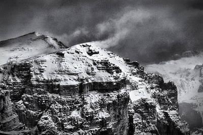 Photograph - Sass Pordoi - Dolomiti by Raffaella Lunelli