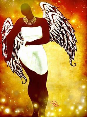 Sassy Angel Art Print