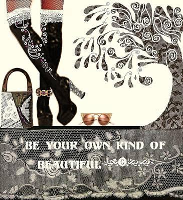 Sassy Boots  II Art Print by Jenny Elaine