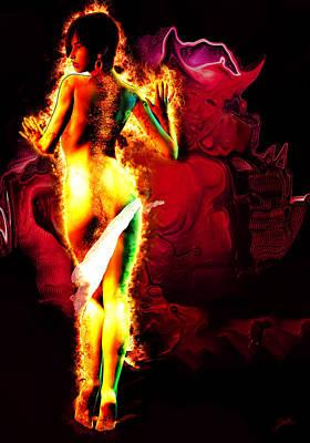 Exciting Mixed Media - Satanasa by Quim Abella