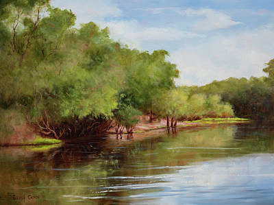 Painting - Satilla River by Glenda Cason
