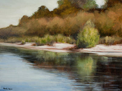 Painting - Satilla River Reflections by Glenda Cason