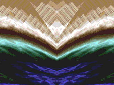 Block Quilts Digital Art - Satin Fabric by Mary Russell