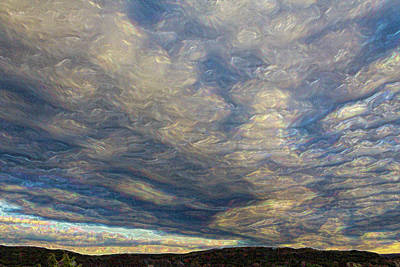 Photograph - Satin Sky No. 1 by Pamela Showalter