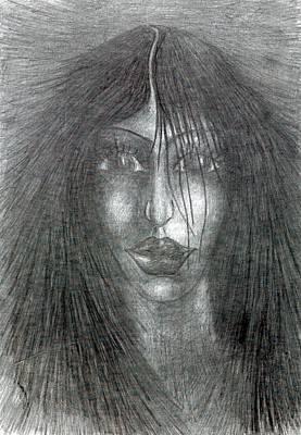 Creativity Drawing - Satisfied by Wojtek Kowalski