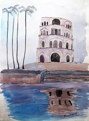 Satkhanda Lucknow Art Print