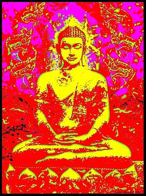 Lake Life - Satorian Buddha I by Peter Gumaer Ogden