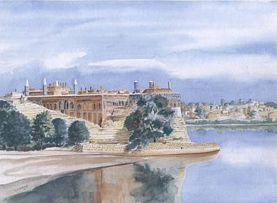 Sattaein Jo Aastan Art Print by Sajjad Musavi