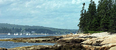 Photograph - Saturday At Winter Harbor by Christopher Mace