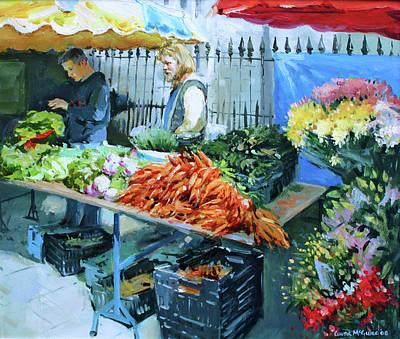 Saturday Market Original by Conor McGuire