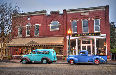Smithfield Photograph - Saturday Morning On Main Steet by Williams-Cairns Photography LLC