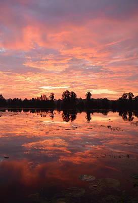 Photograph - Saturday Morning Sunrise by rd Erickson
