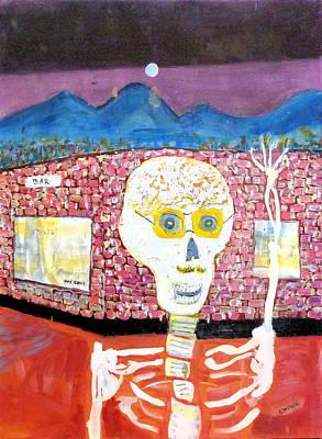 Painting - Saturday Night Date 1 by Rojo Chispas