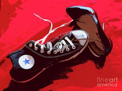 Living In Converse Saturday Night. Art Print